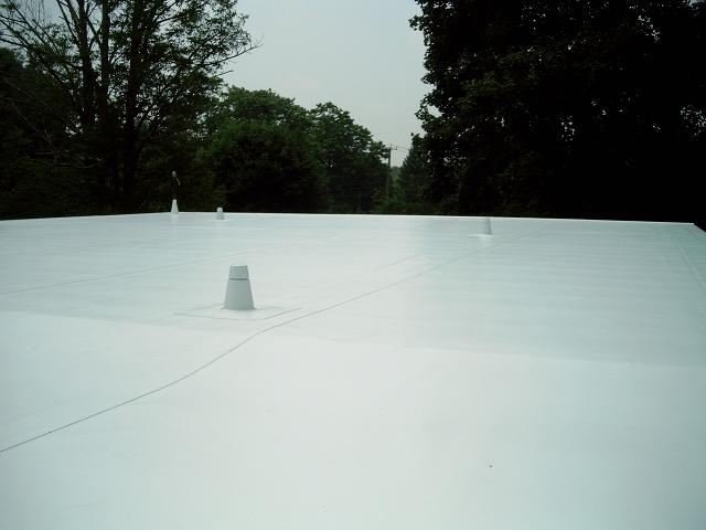 Cool PVC flat Roof