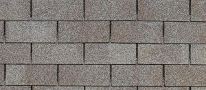image of three tab asphalt shingles
