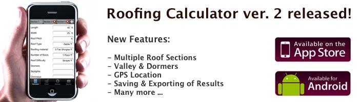 image of Roofing Calculator App v2