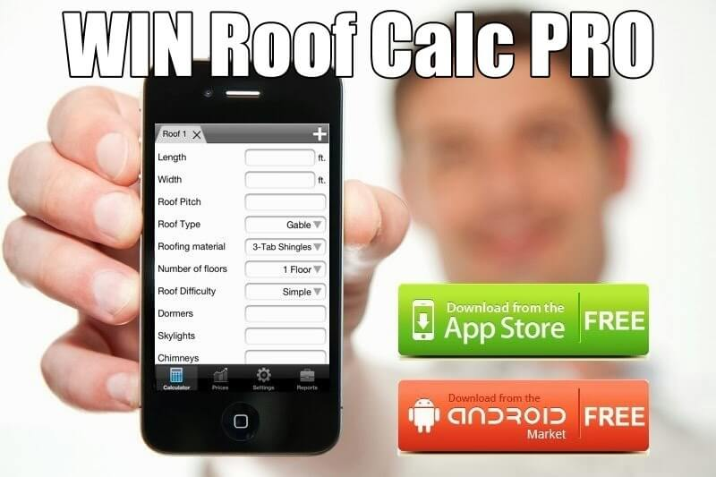win roofing calculator pro